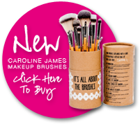 New Caroline James Makup Brushes - Click here to buy